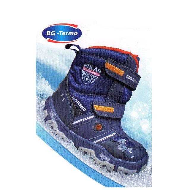 eedc1553f7e275 Зимняя непромокаемая детская термо обувь BgG. Детская термообувь BG  характеристики ...